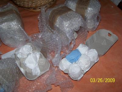 déballage oeufs